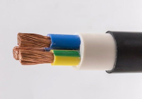 کابل قدرت مسی با عایق و روکش PVC | سیم و کابل ساوه
